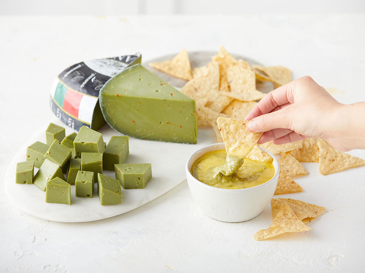 We Tried the Viral Green Guacamole Cheese—Here's What We Thought