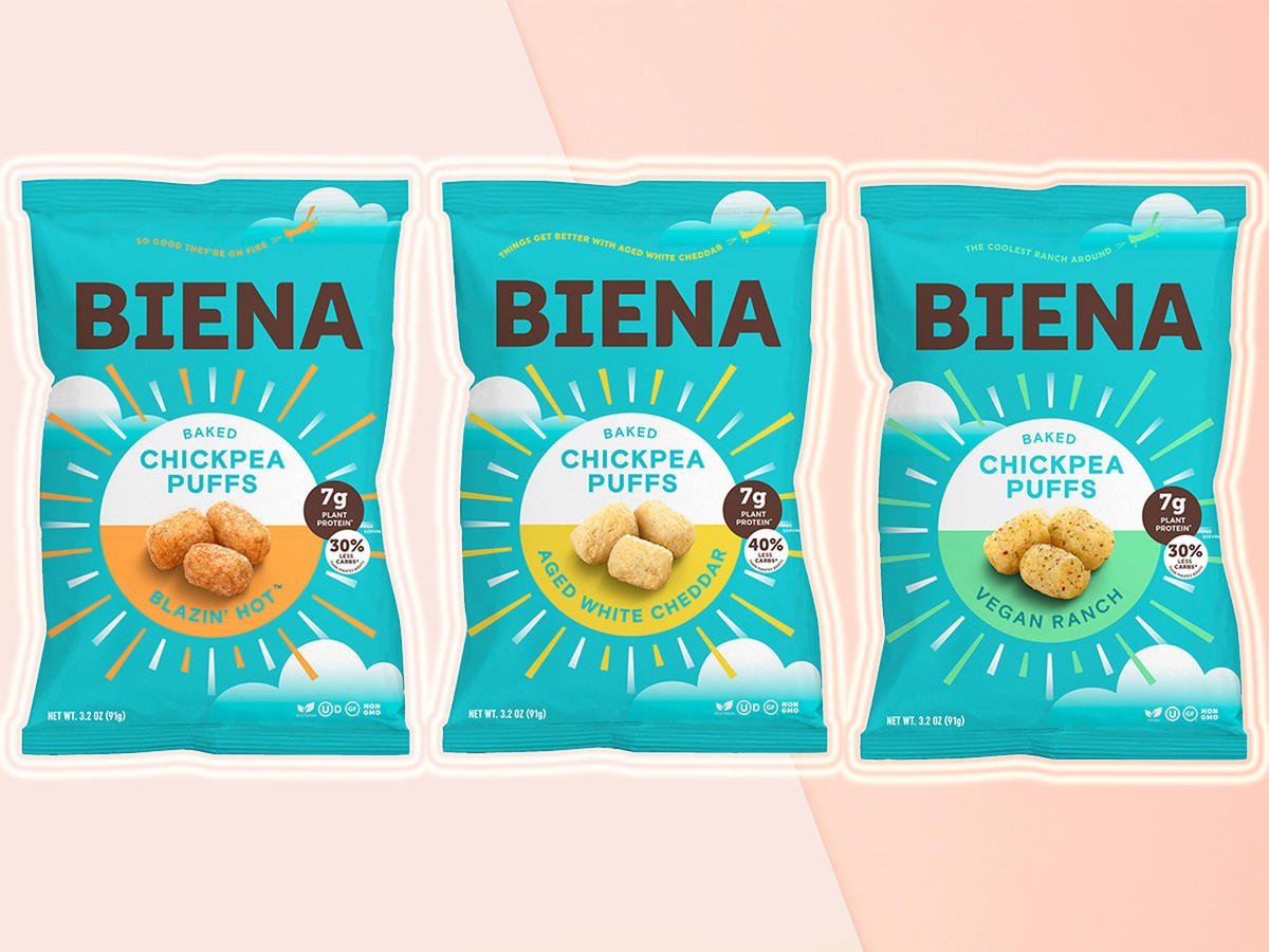 These New Chickpea Snacks Are Basically More Nutritious Cheesy-Puffs.