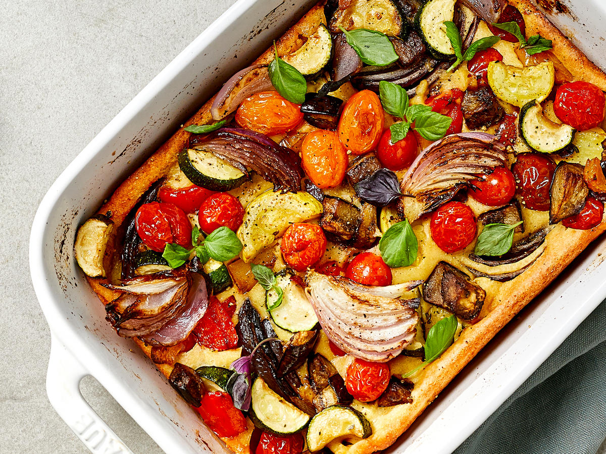 All-Vegetable Toad-in-the-Hole
