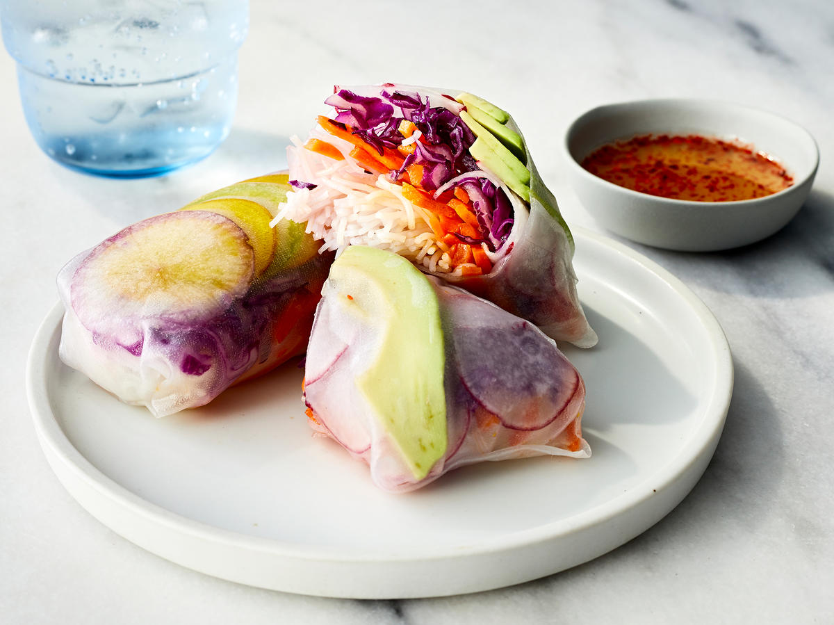 Fresh All-Vegetable Summer Rolls