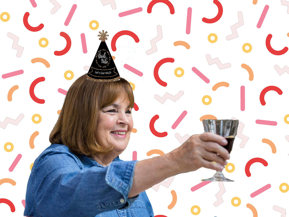 This Genius Bachelorette Party Was Barefoot Contessa-Themed—And Ina Weighed In!