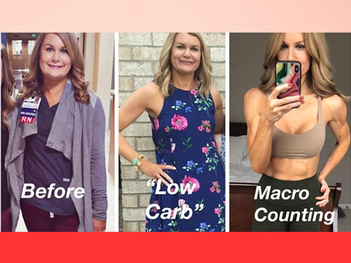 What Happened When This Woman Went from a Low-Carb Diet to Counting Her Macros