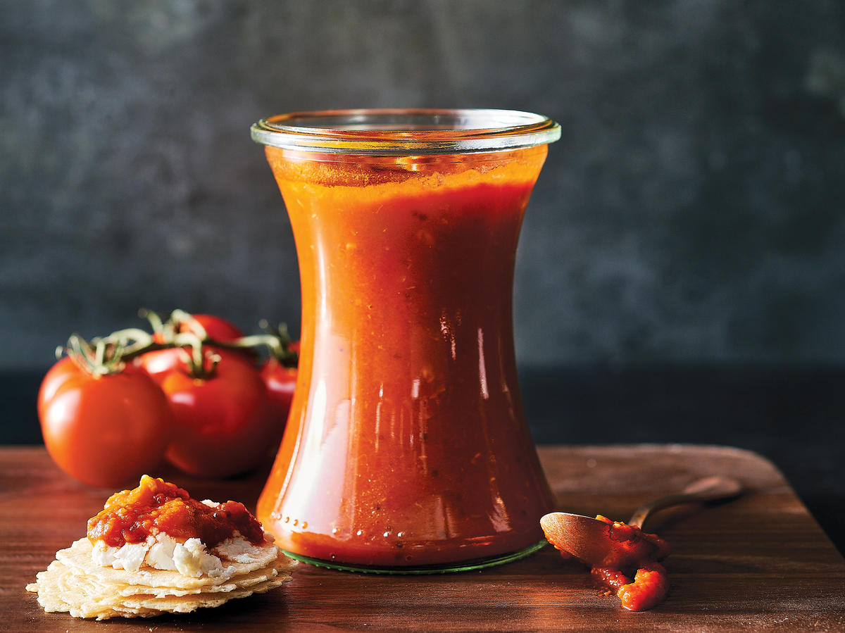 Slow-Cooker South Indian Tomato Chutney