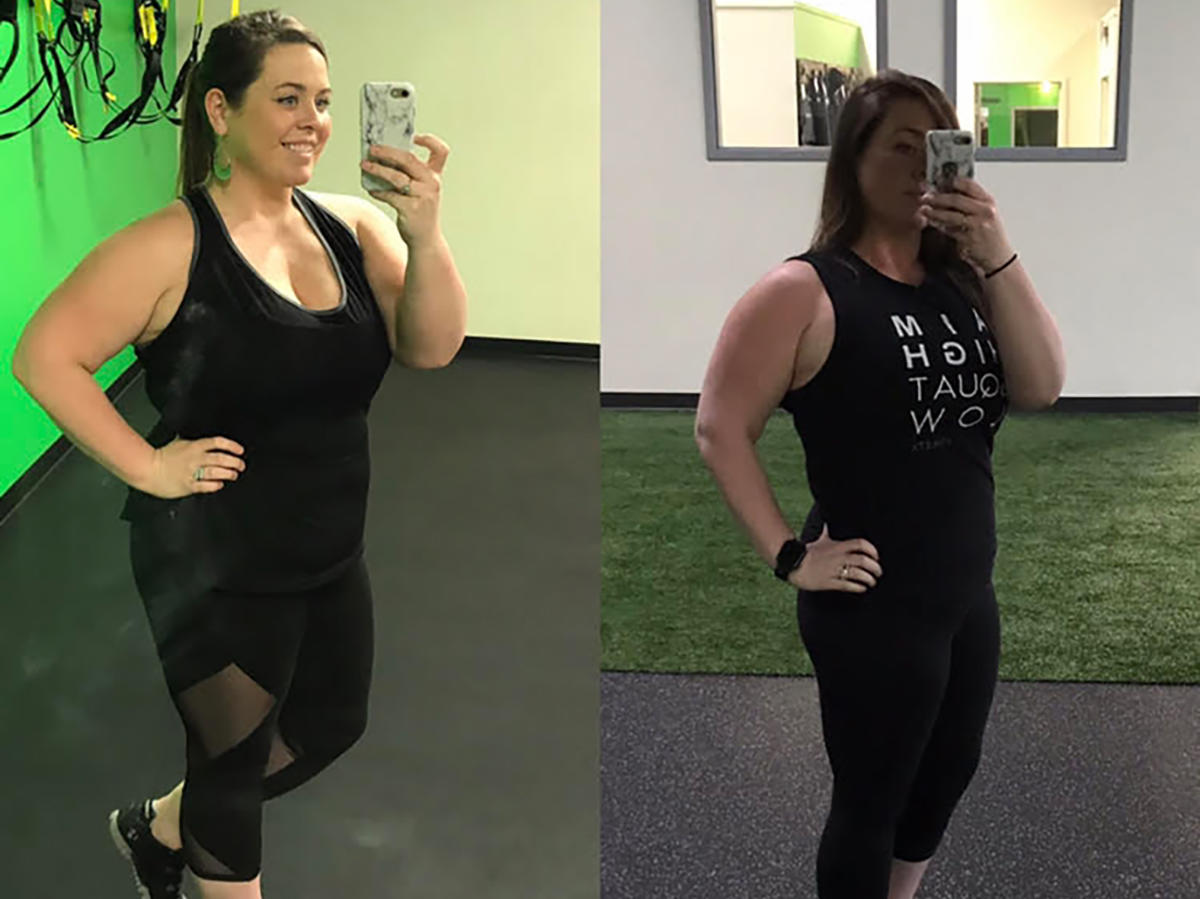 How a Family Health Scare Motivated This Woman to Lose 40 Pounds