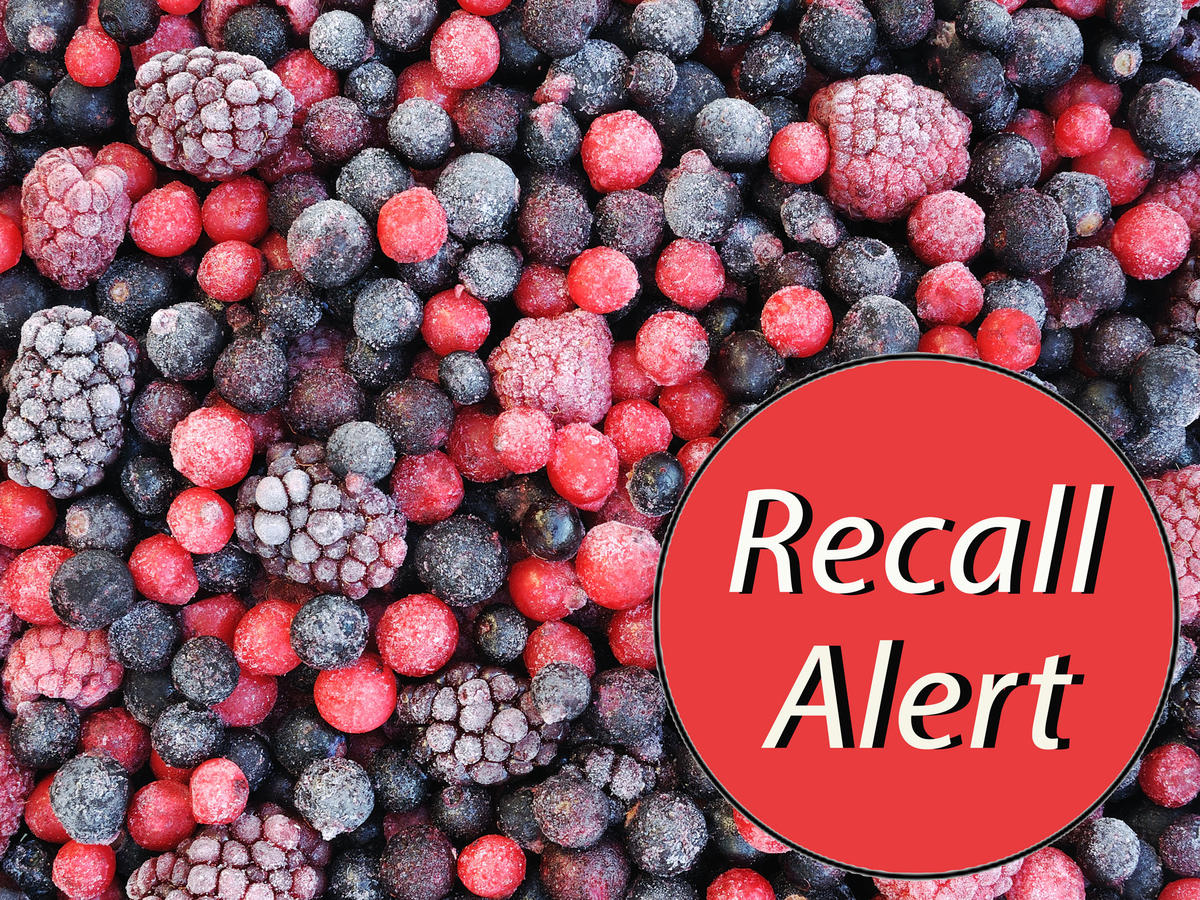 Kroger Recalls Select Frozen Berries Nationwide for Possible Hepatitis A Contamination