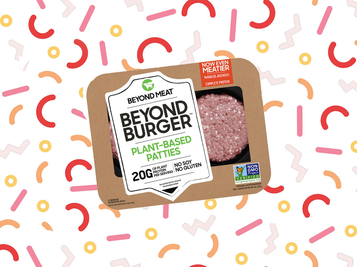 "We Tried the New ""Meatier"" Beyond Meat Burger 2.0. Here's What We Thought"