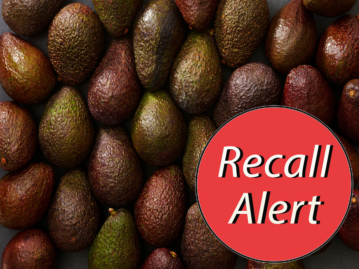 Frozen Avocado Recall Issued in 15 States for Possible Listeria Contamination