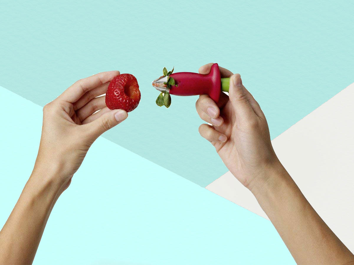 This $8 Gadget Is the Easiest Way to Hull Strawberries—and Amazon Shoppers Are Obsessed With It