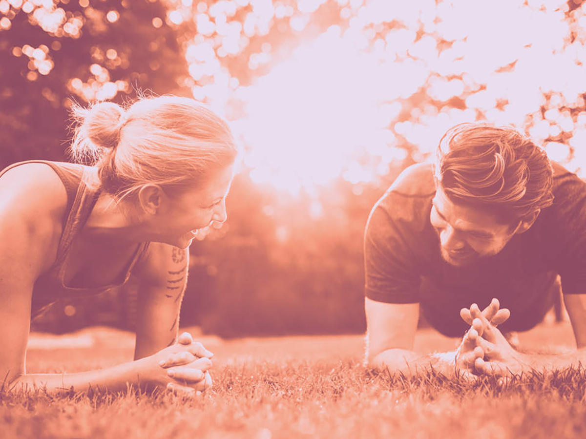 I Did a Plank Every Day for 3 Months With My Husband—and It Helped More Than Just My Core