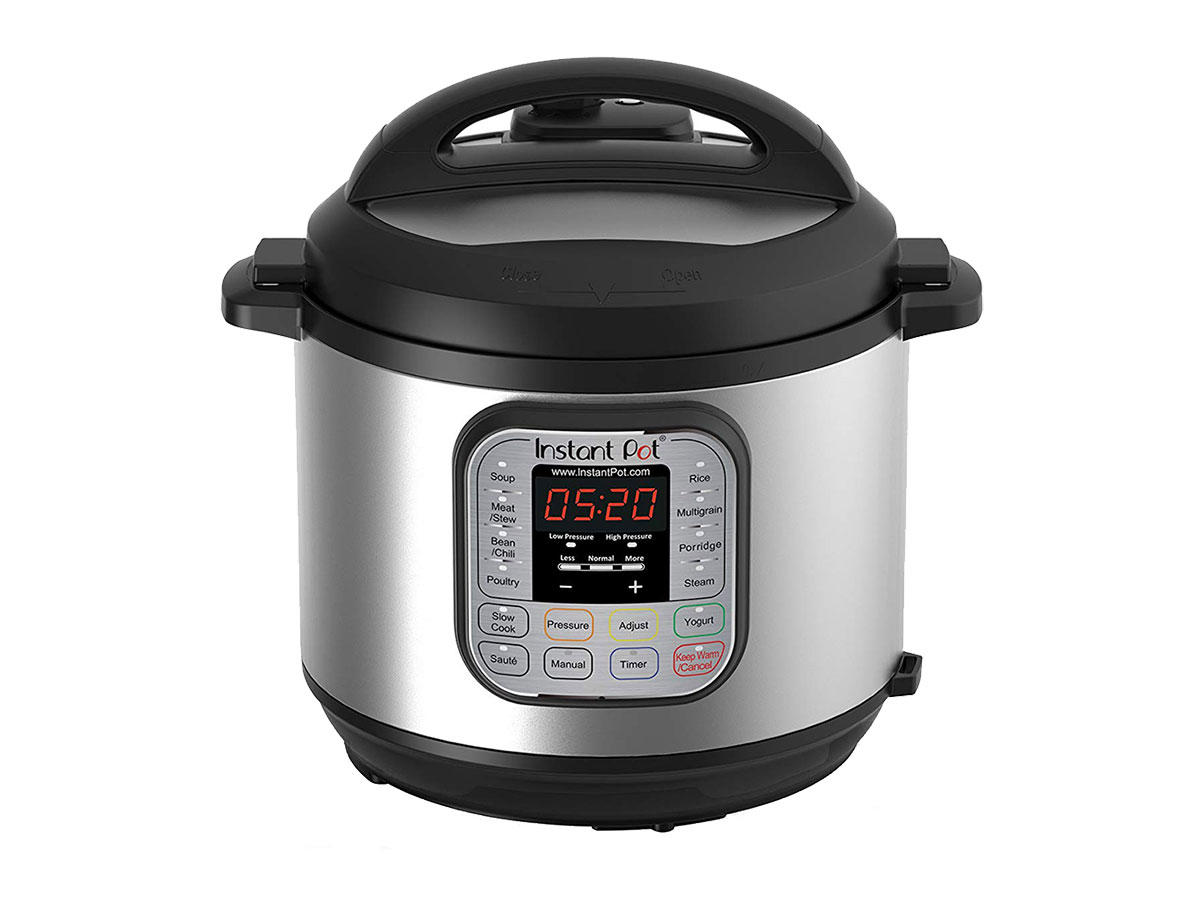 1907w Instant Pot DUO60 6 Qt 7-in-1 Multi-Use Programmable Pressure Cooker