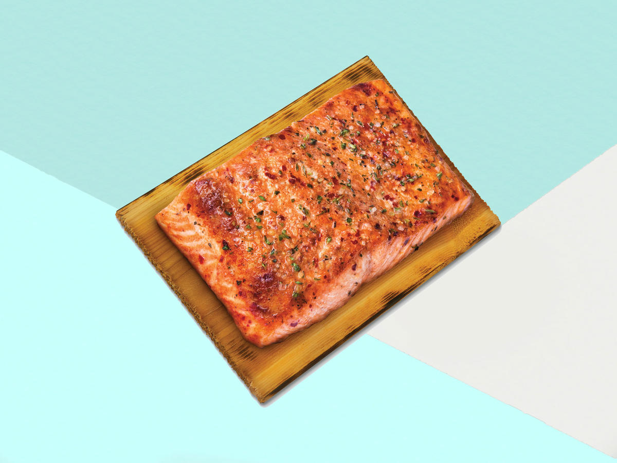 Aldi's Bourbon Cedar-Plank Salmon Just Hit Stores (and It's Under $10!)