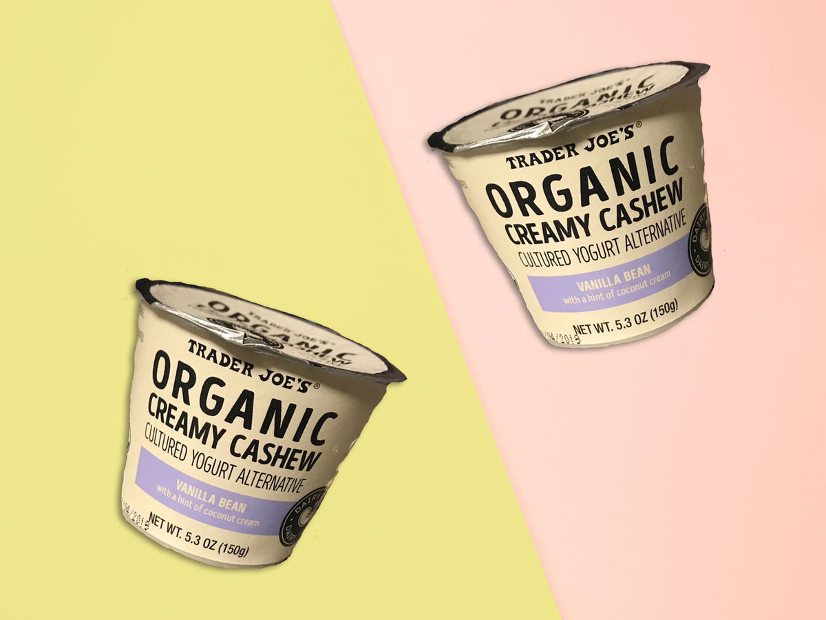 Trader Joe's Just Debuted a New, 140-Calorie Cashew Yogurt