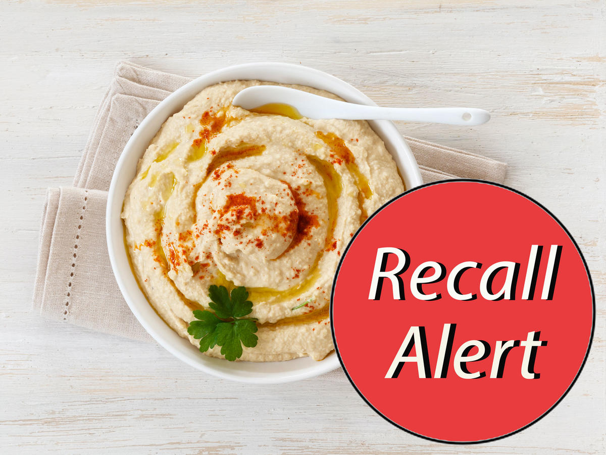 Nearly 100 Types of Hummus Recalled for Potential Listeria Contamination