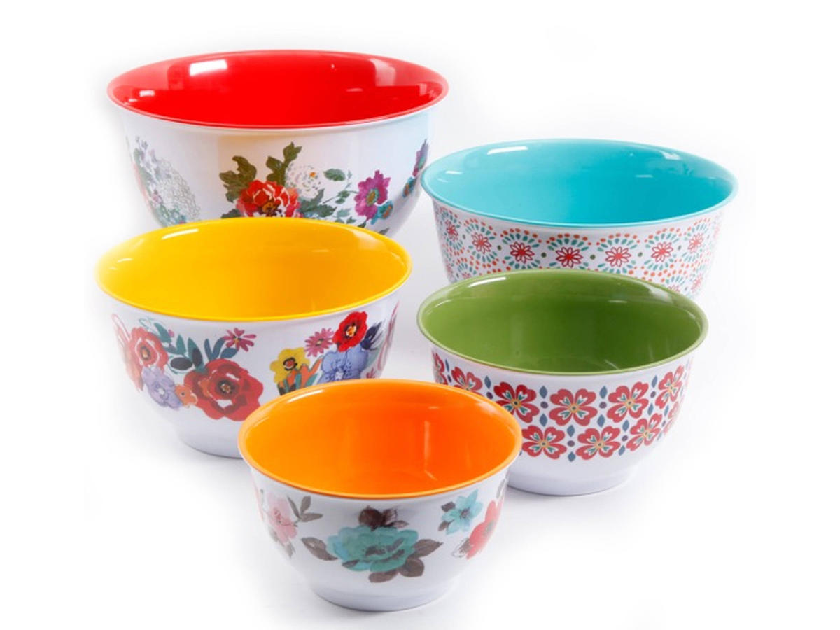 The Pioneer Woman Country Garden Melamine Mixing Bowl Set