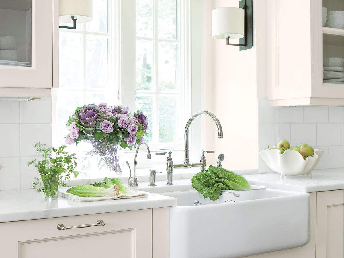 The Details: Farmhouse Sink