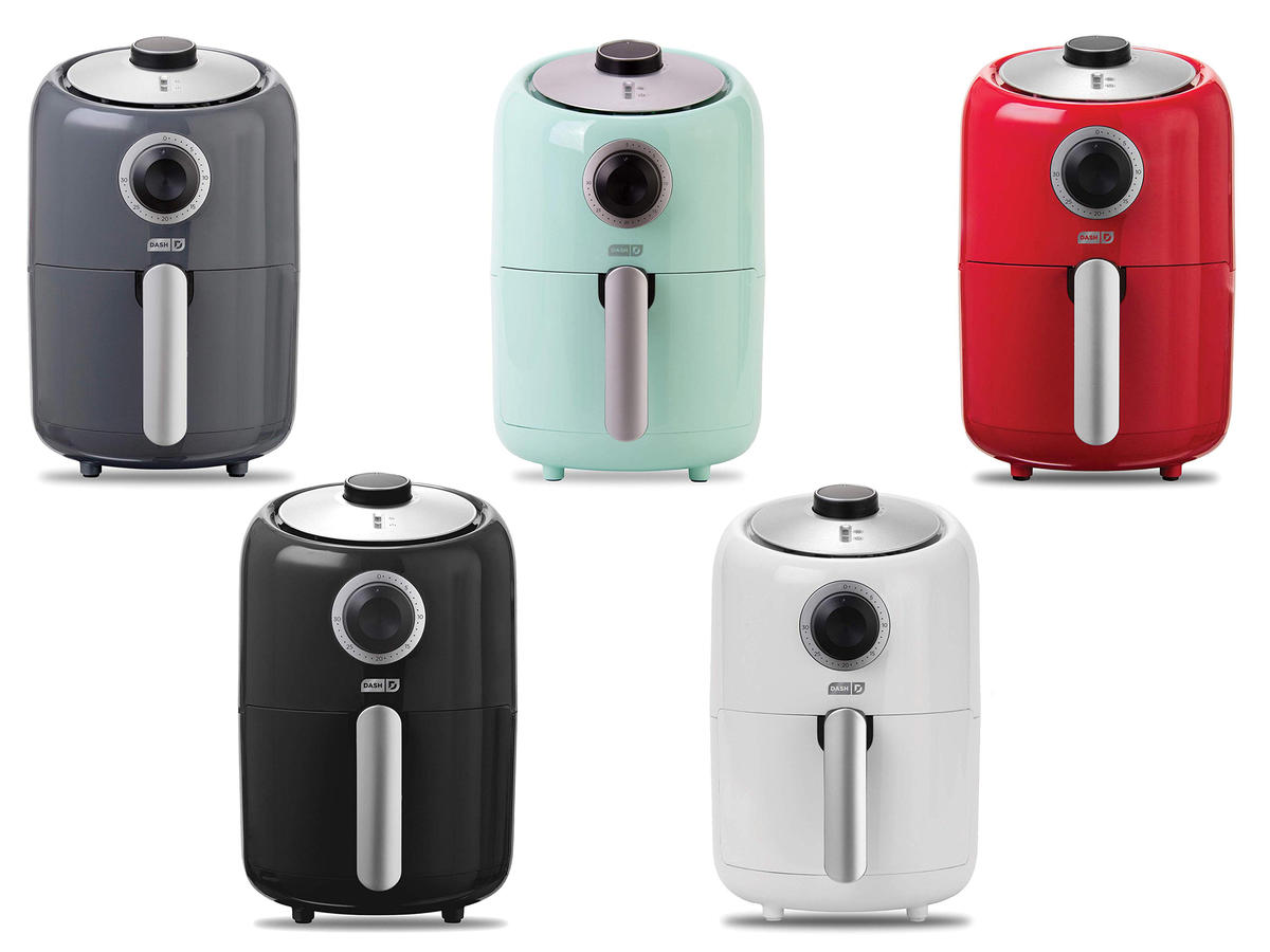 Shopping: This Best-Selling Air Fryer Is Super Compact, Cute, and Only $36