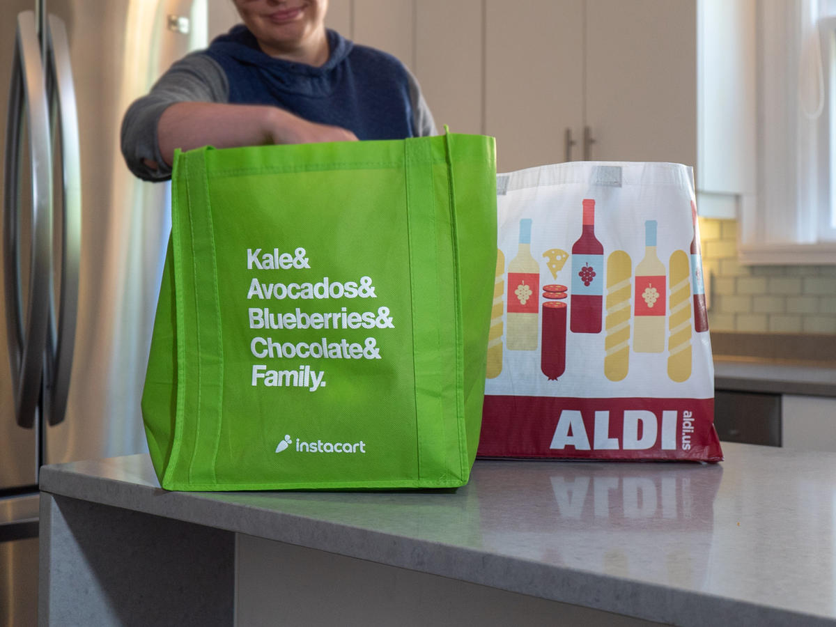Aldi Teams With Instacart for Delivery Nationwide