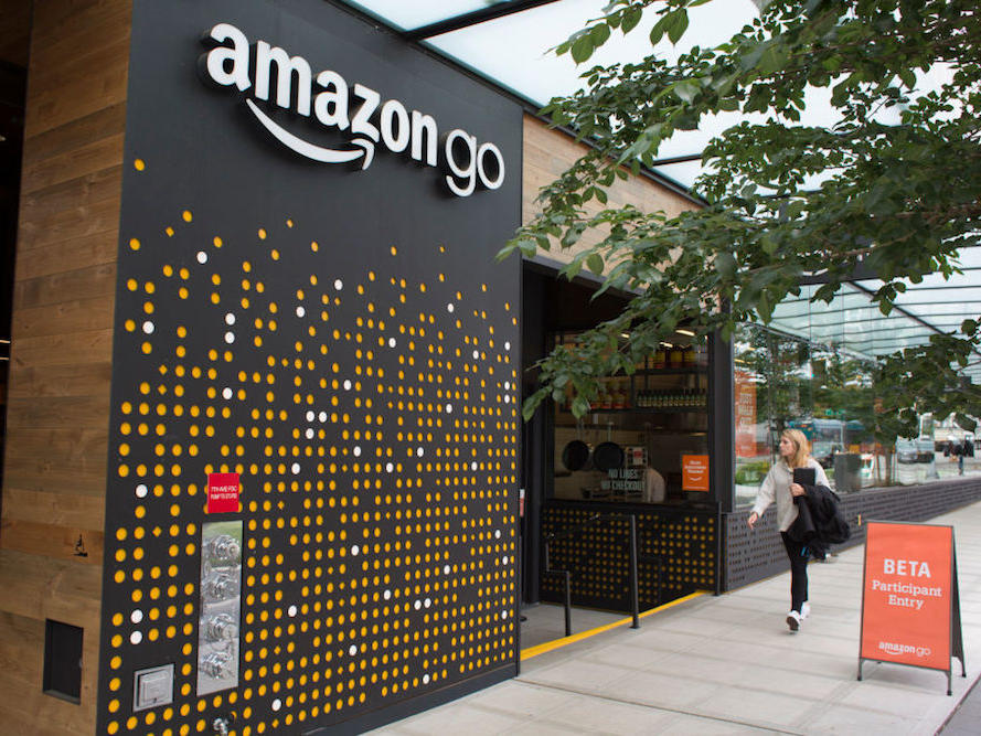Amazon Go Concept Expands to Second Food-Filled Location