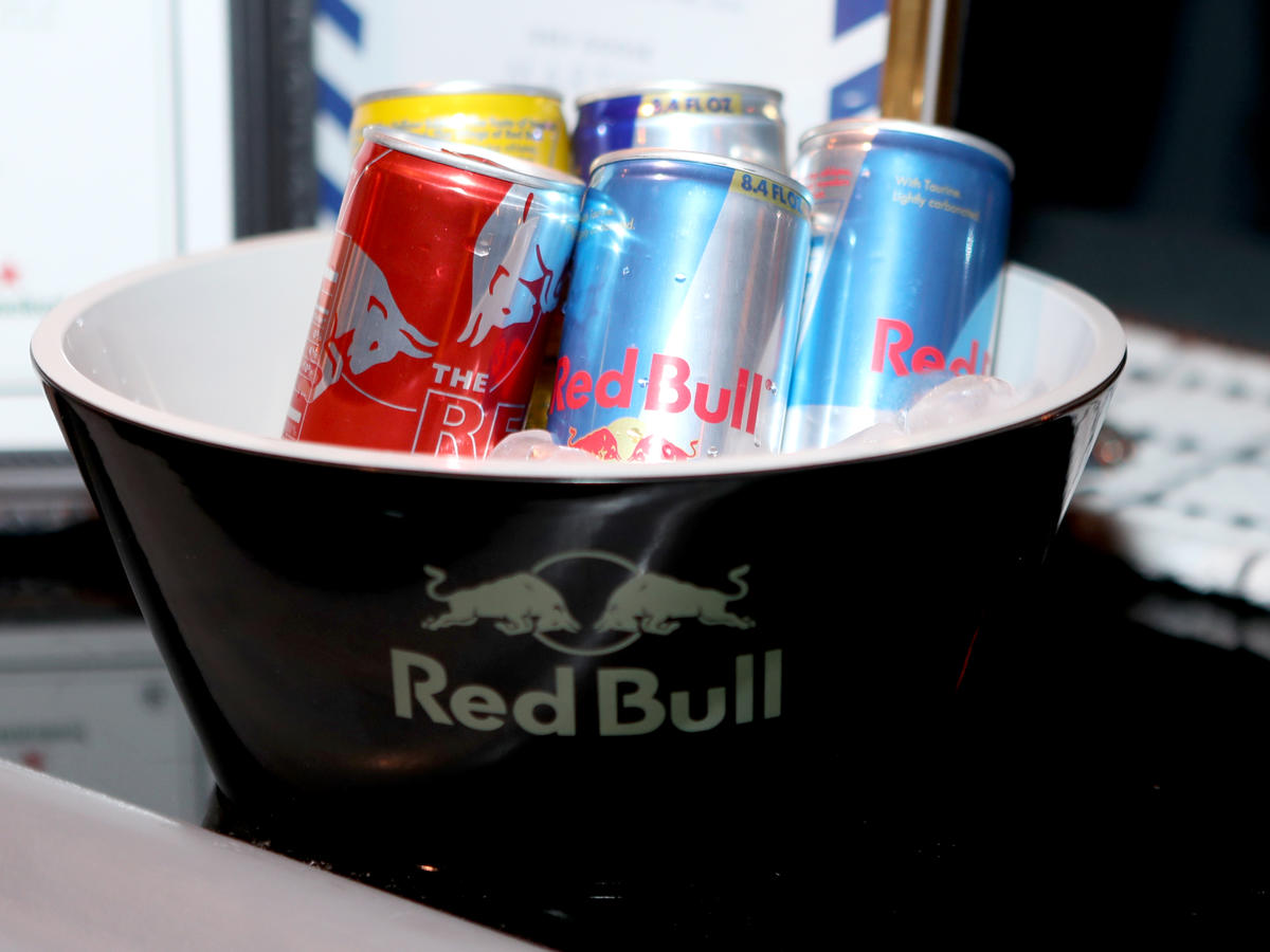 Red Bull mixed with...any booze