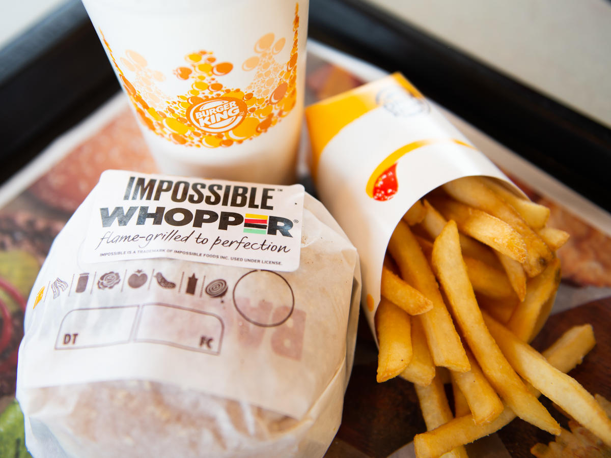 Burger King's Meatless 'Impossible Whopper' Is Going Nationwide