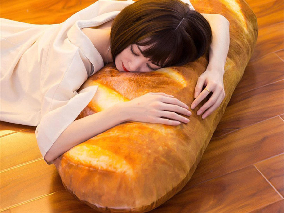 Move Over, Burrito Blanket: This Bread Pillow Is Winning the Internet