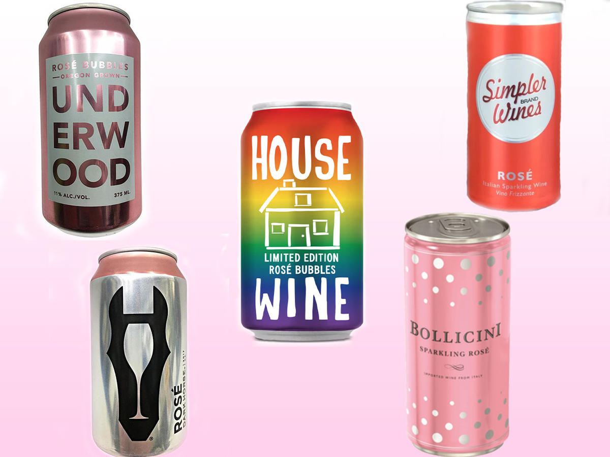 We Tried 10 Canned Rosés and These are the Ones to Sip This Summer