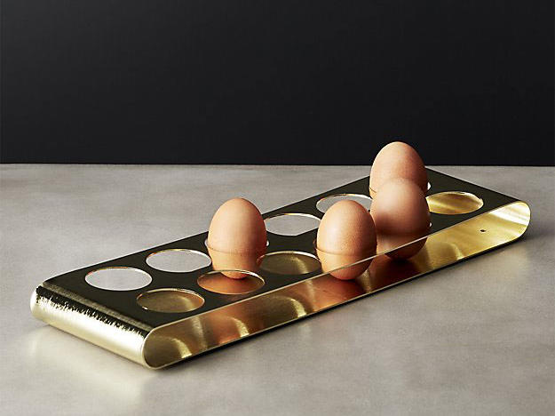 Grade A Gold Egg Holder