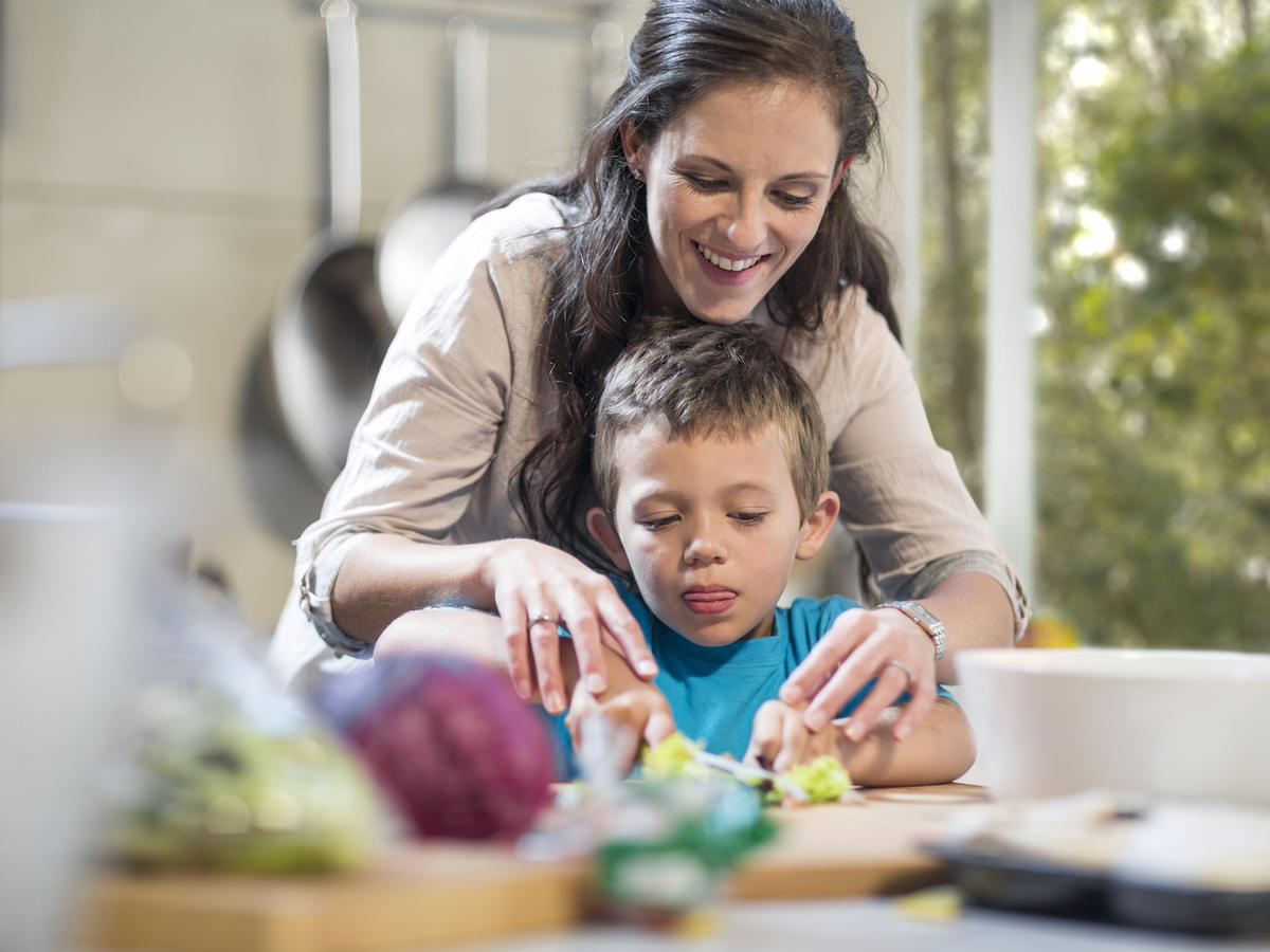 Getting Kids in the Kitchen is Important to Their Health
