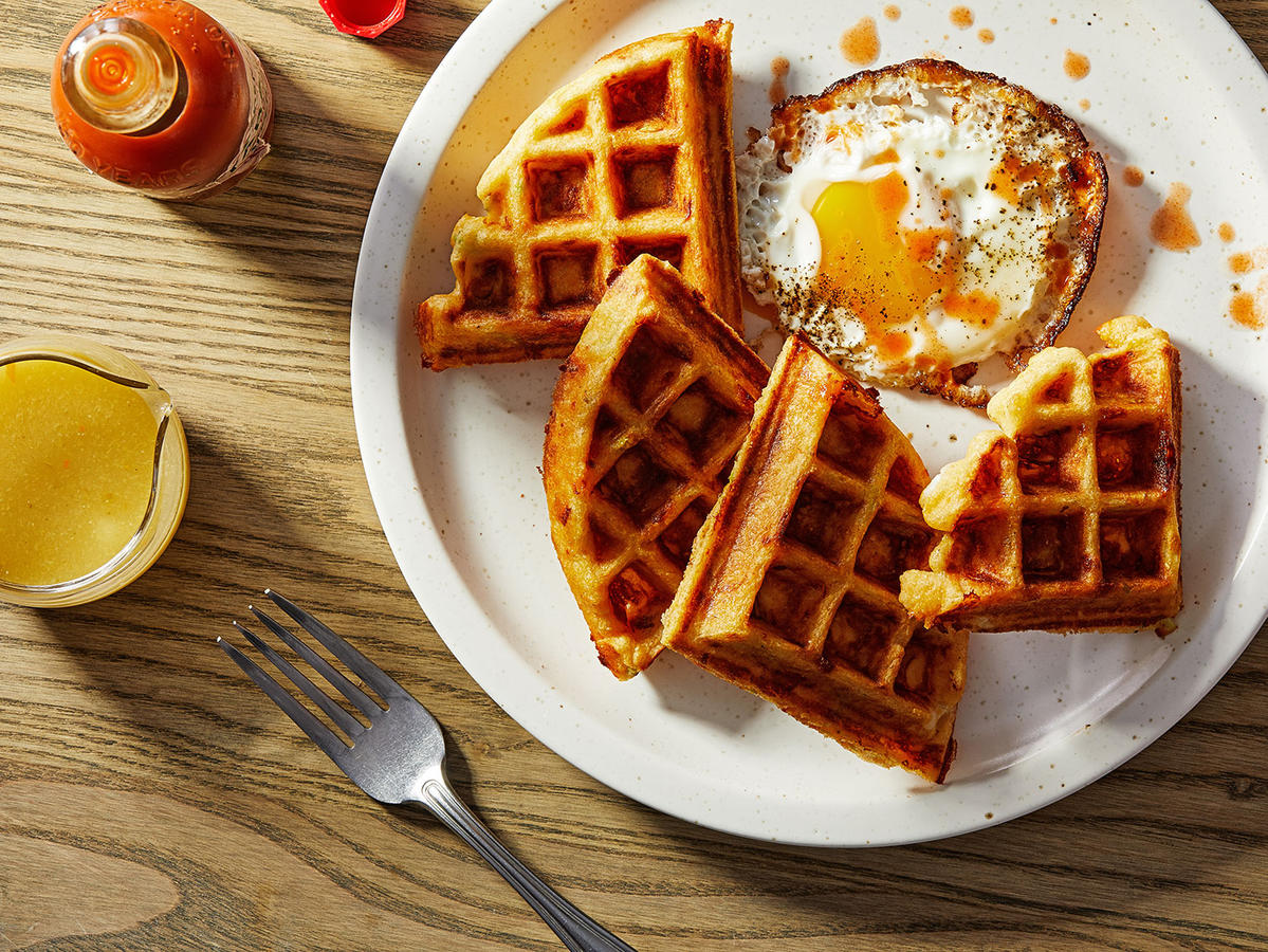 This Incredible Gadget Makes Fluffy Waffles and Golden Pancakes—and It's 62% Off