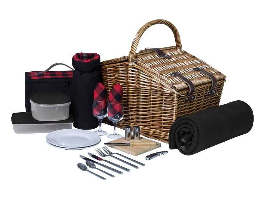 Nothing says cowboy chic like plaid napkins in wine glasses. This all-in-one set includes everything from cheese board to wine opening. Nordstrom, $222.