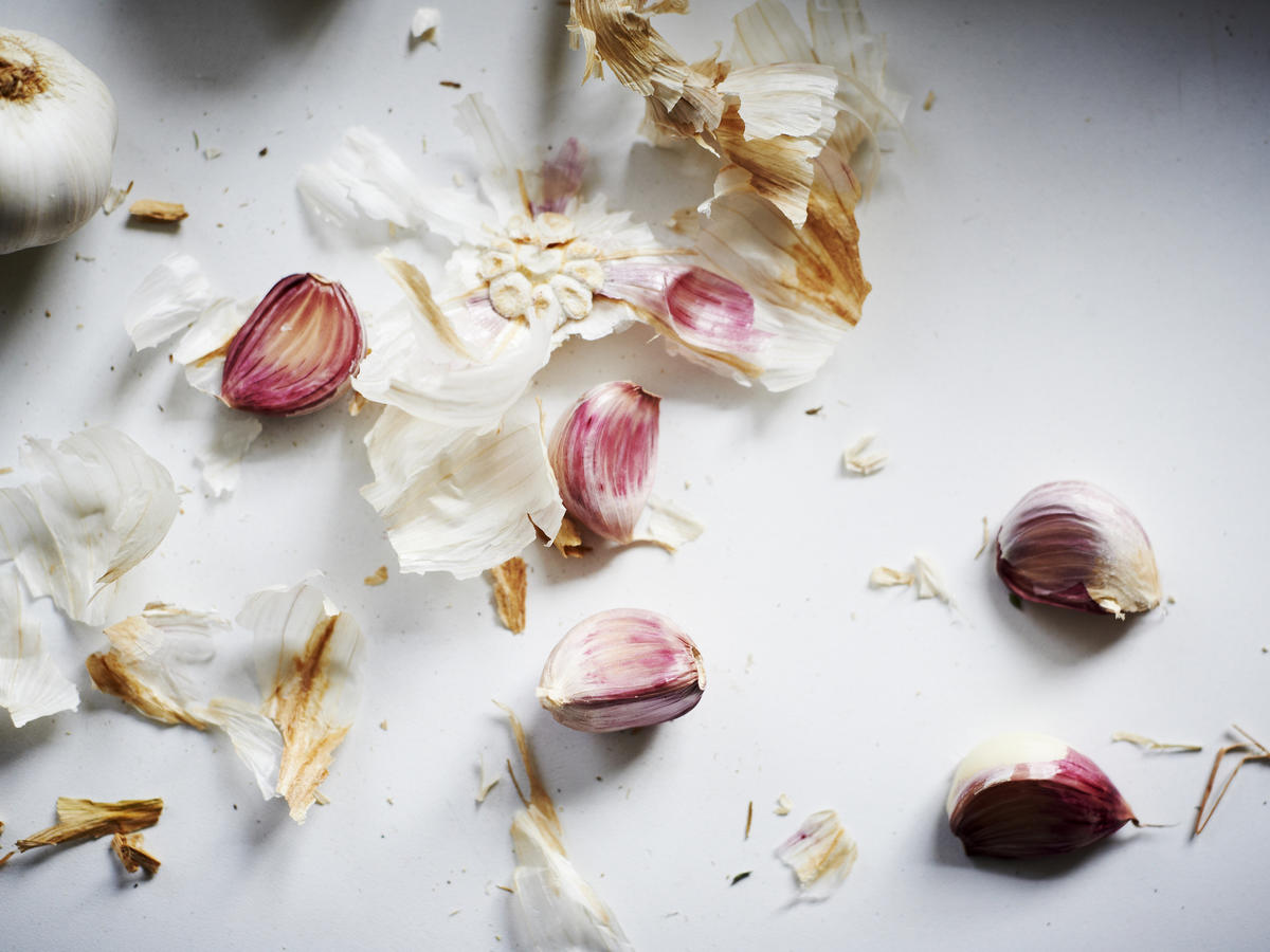 Yes, You Should Save—And Cook With—Garlic Skins