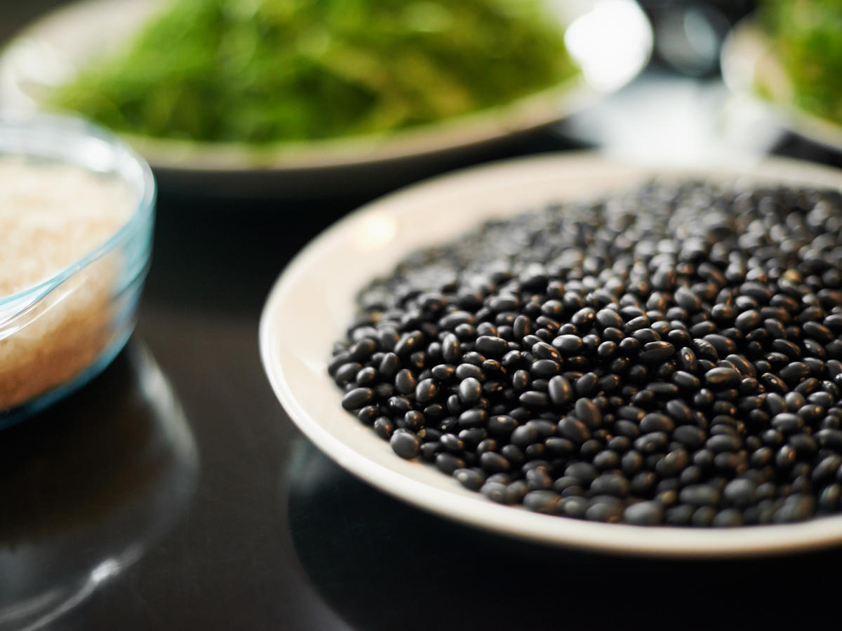 Best legume: Simply cooked beans