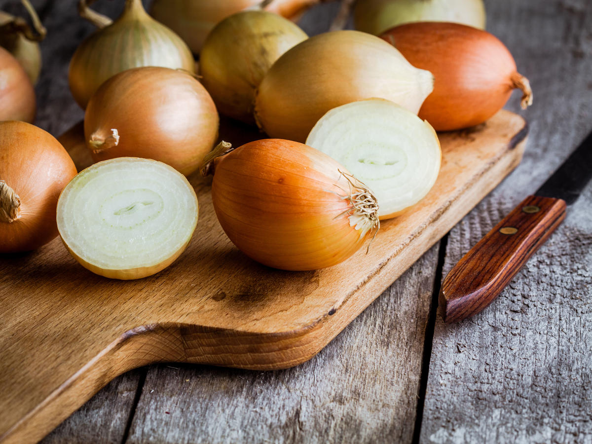 Use This Trick to Make Your Cut Onions Last and Last