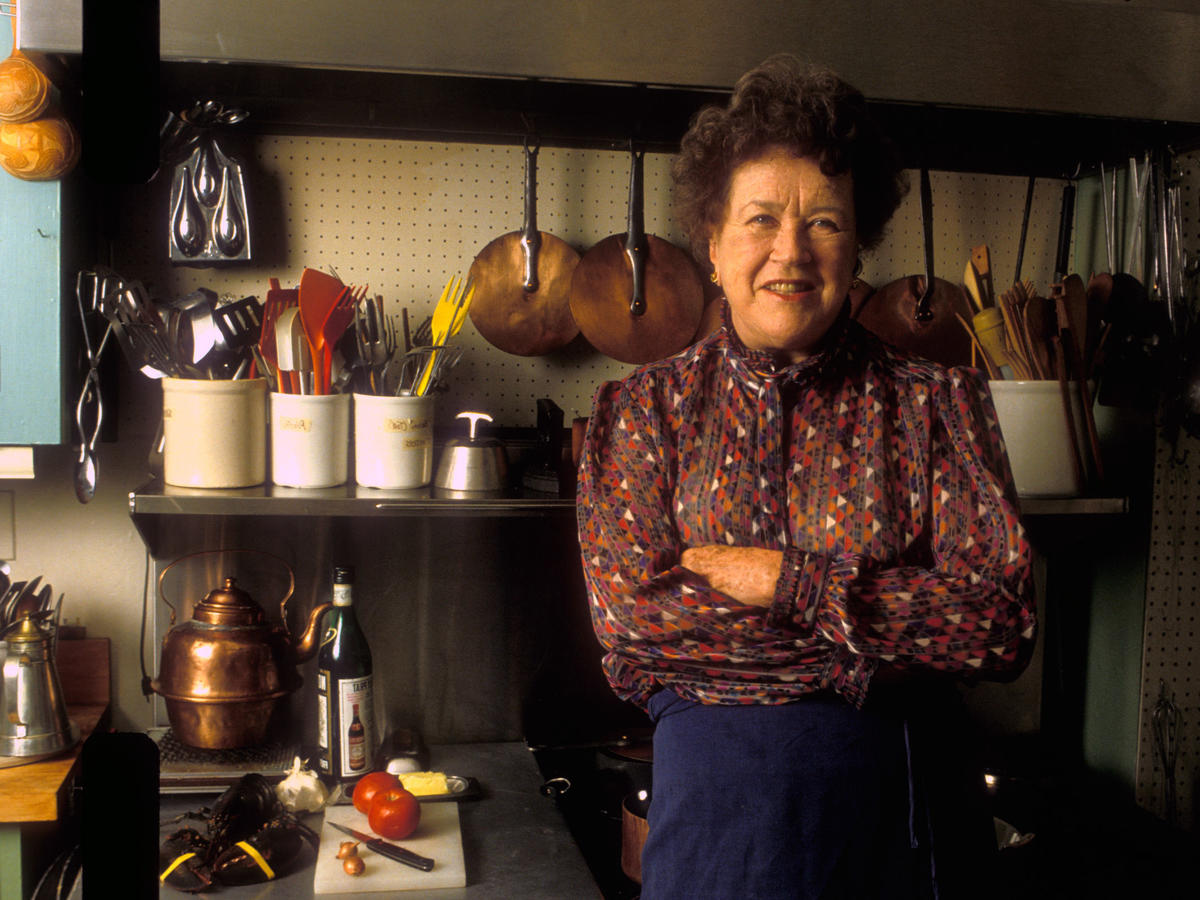Tis the Season for Julia Child's Trademark Vinaigrette