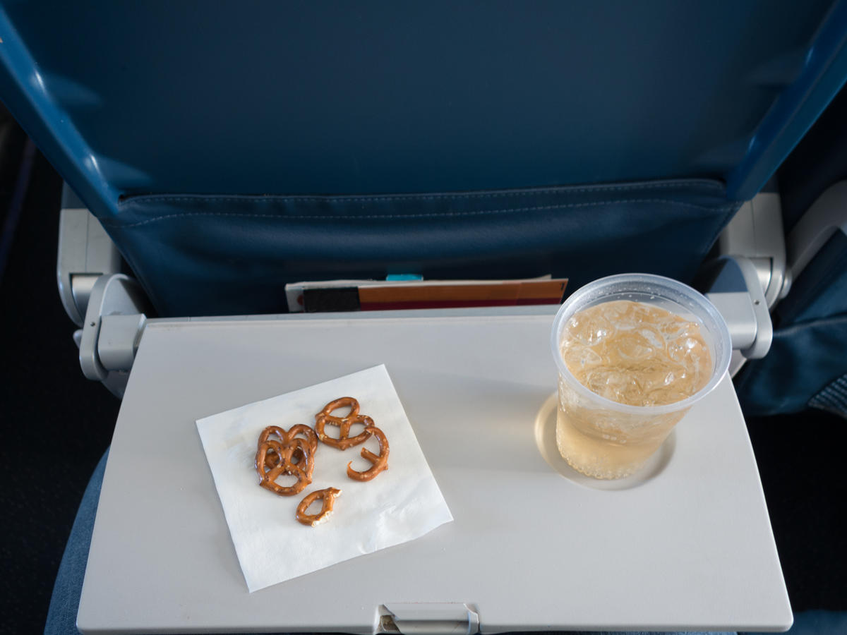 You Should Never Ask For Ice on an Airplane—And More Air Travel Food Tips