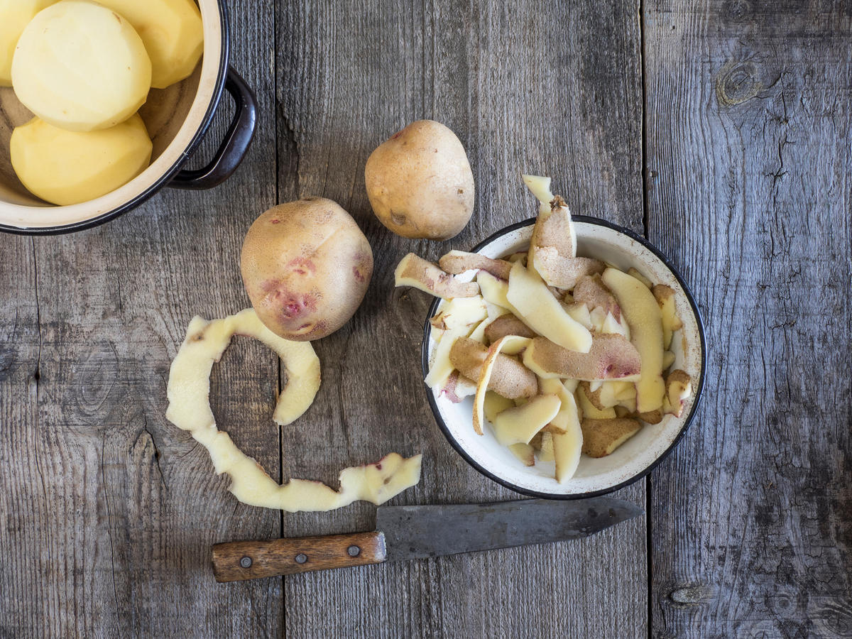 How (and Why) to Cook With Leftover Potato Peels