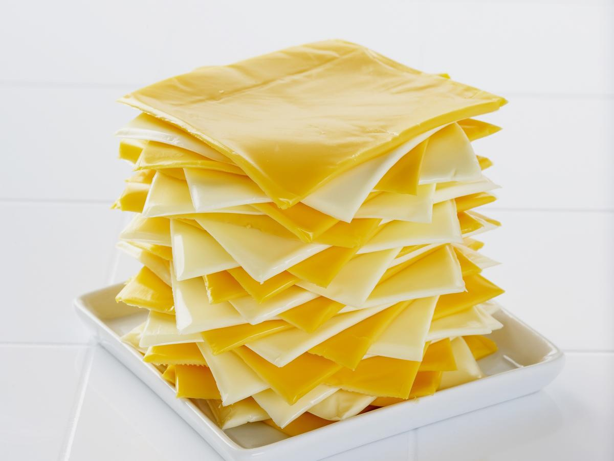 Worst cheese: Processed substitute cheese