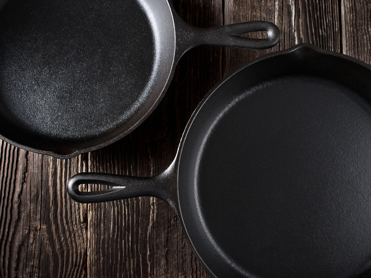 Exactly How to Clean a Cast-Iron Skillet