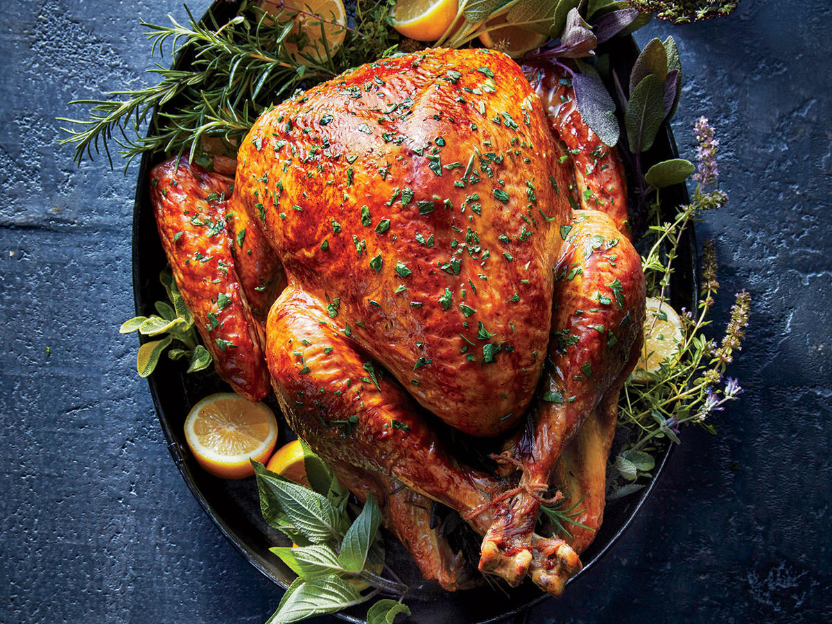 Herb, Lemon, and Garlic Turkey