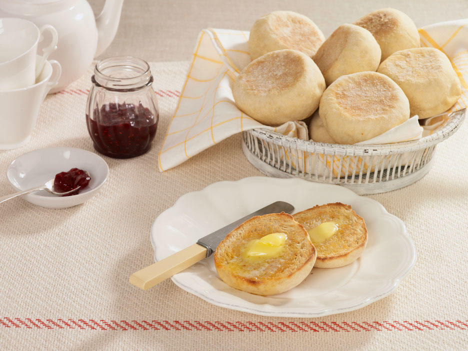 Move Over, Thomas! Here's How You Can Make Homemade English Muffins.