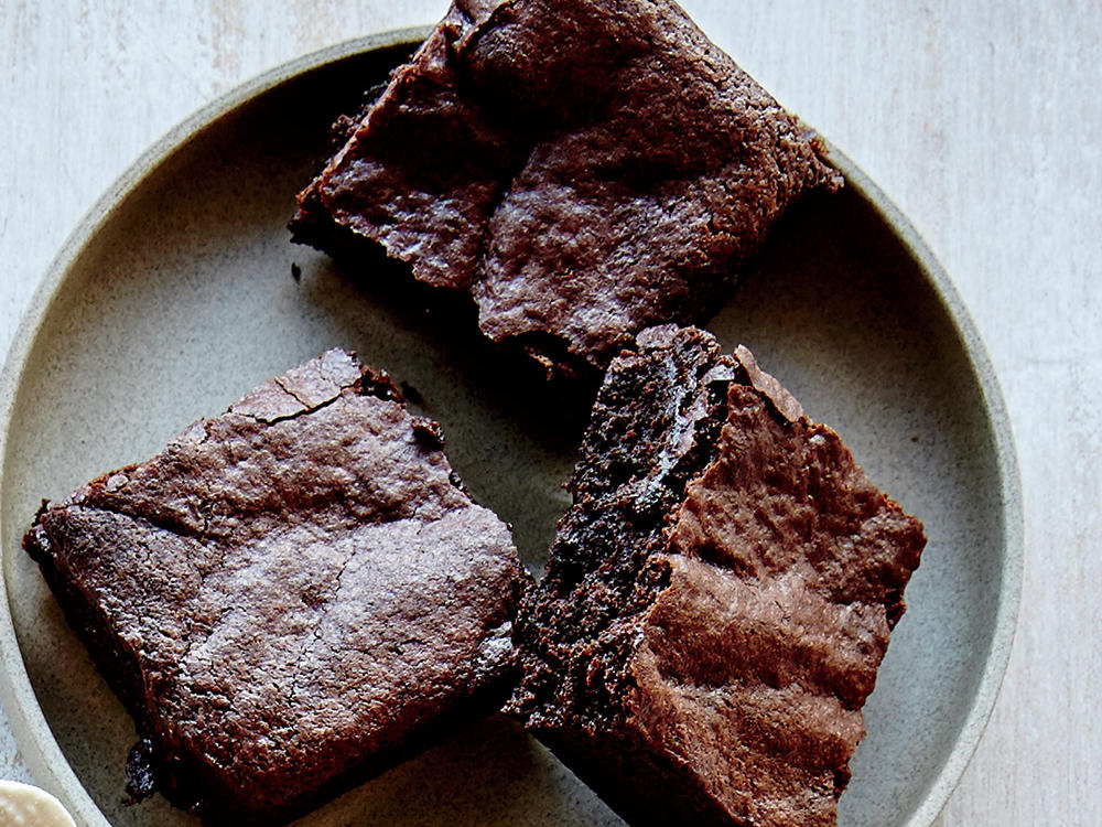 Super-Fudgy Teff Brownies