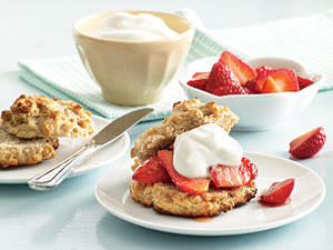 Healthy Makeover: Strawberry Shortcakes