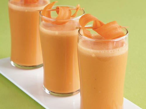 carrot apple and ginger refresher recipe