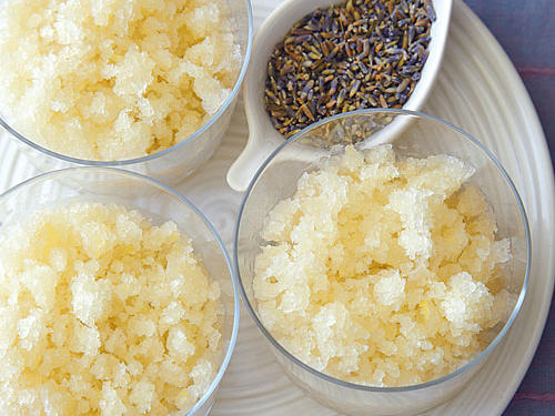 lavender and lemon ice recipe