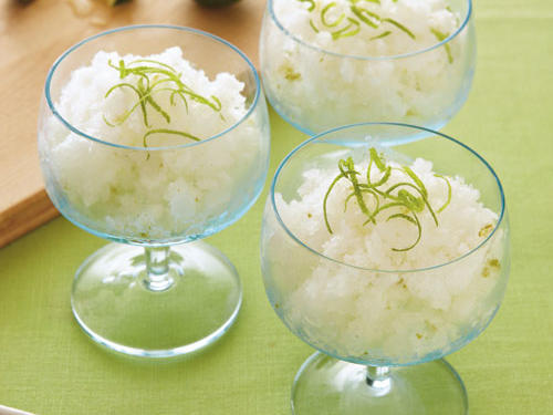 lime coconut granita recipe
