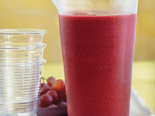 raspberry grape smoothie recipe