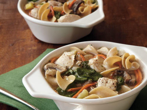 rosemary chicken noodle soup recipe