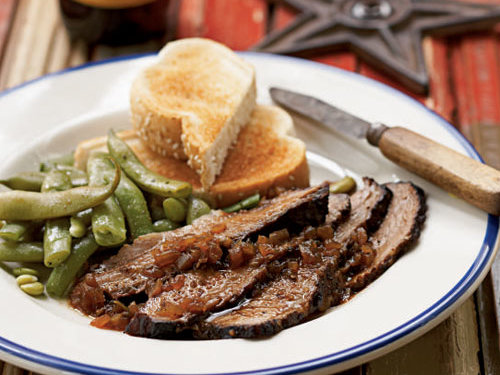 texas style smoked brisket recipe