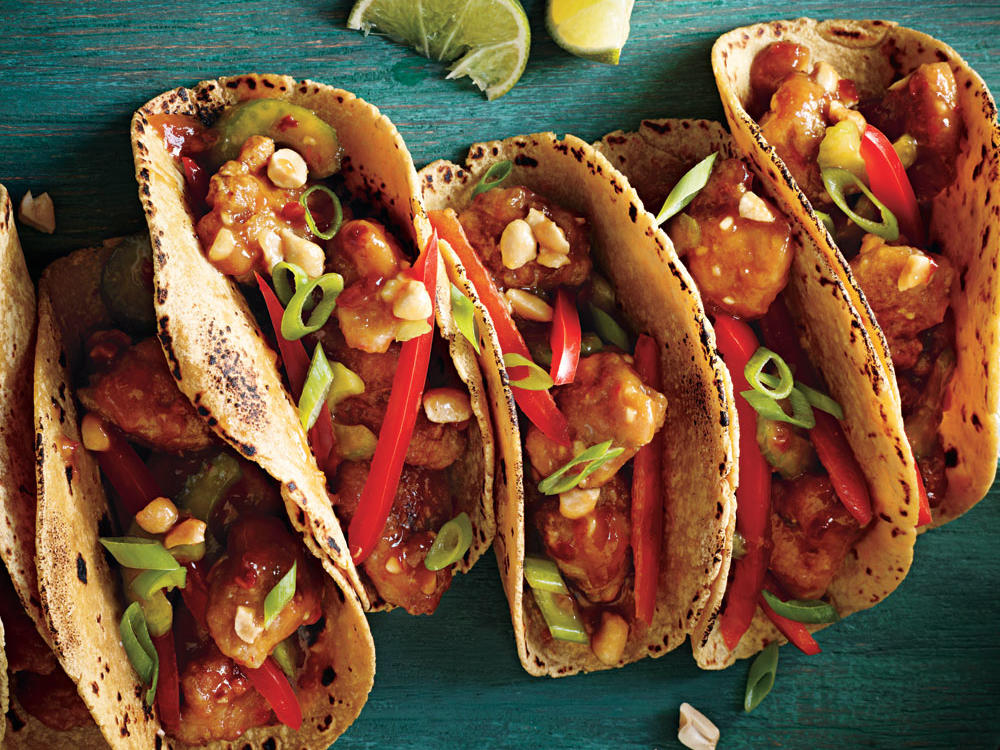 Clone of 1210 Kung Pao Chicken Tacos