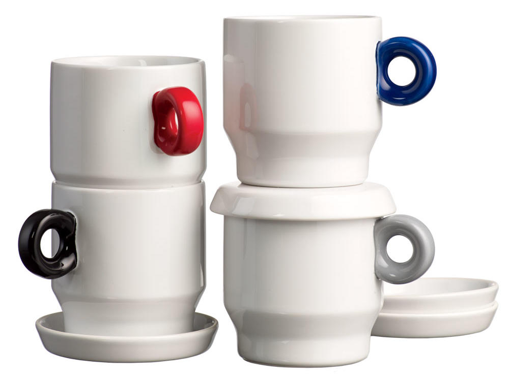West Elm Stacking Mug Set